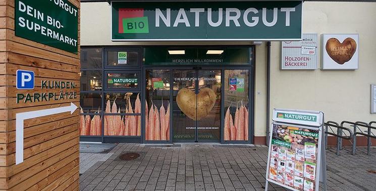 Biomarkt Natugut setzt auf Bodenfliesen von Kemmler