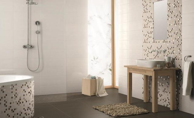 bodenebene Dusche gefliest