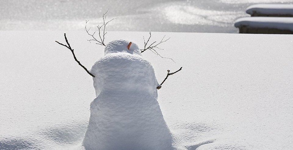 Im Winter ein Traum zum erholen