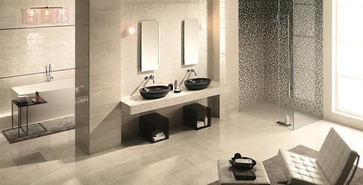 Ein Hauch von Luxus im Bad. Fliesen Kemmler bietet Ihnen eine große Auswahl.