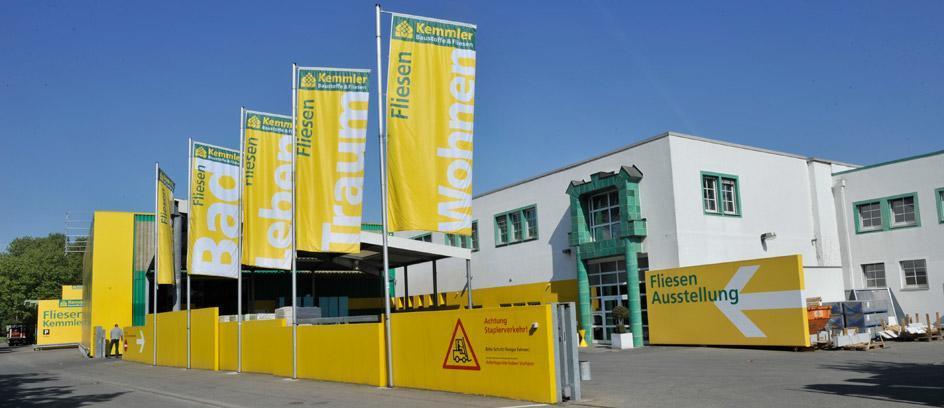 Die Fliesenausstellung von Fliesen-Kemmler in Stuttgart Bad Canstatt
