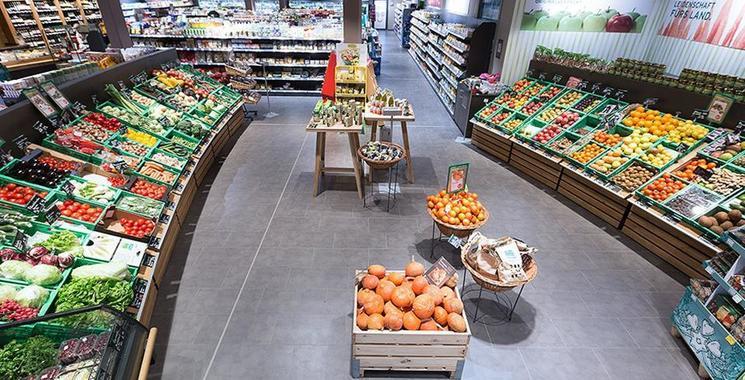 Bio-Laden Naturgut in Stuttgart-Möhringen - Bodenfliese von Kemmler