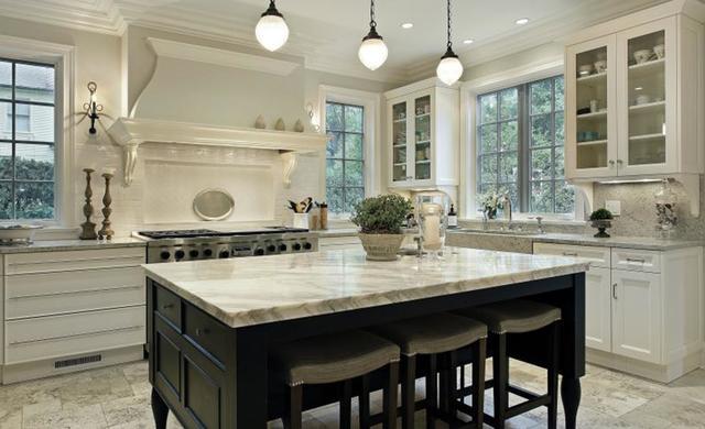 Küche im New England Style