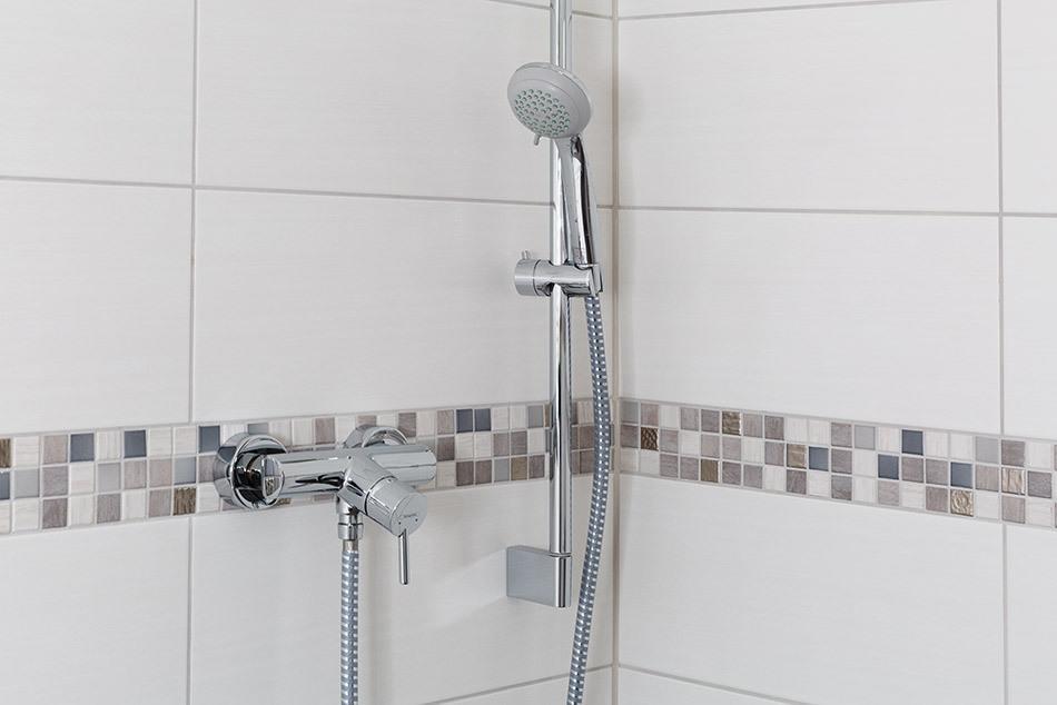 Mosaik als Dekoration im Duschbereich