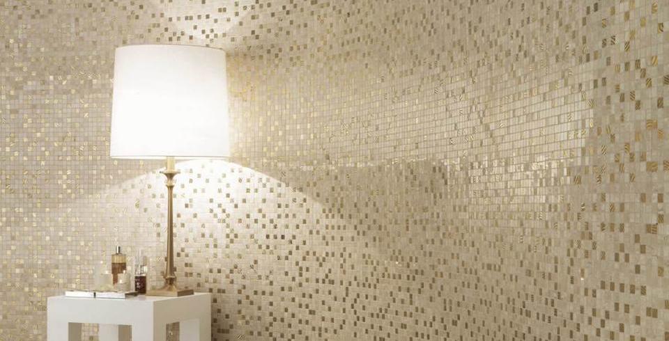 Goldige Mosaike