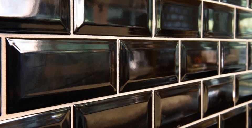 Wandfliese Paris Im MetroLook L FliesenKemmler - Fliesen mit facettenschliff