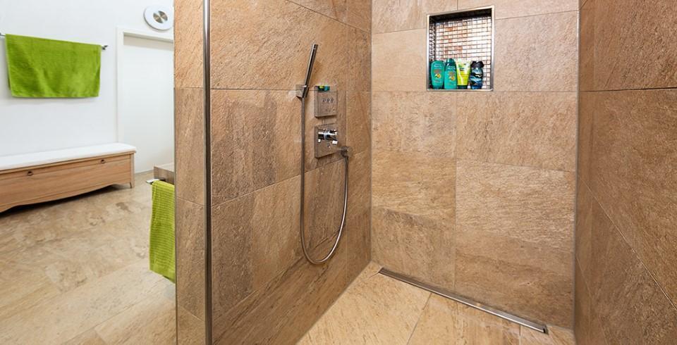 Fußboden Fliesen Dusche ~ Begehbare duschen mit fliesen gestalten fliesen kemmler
