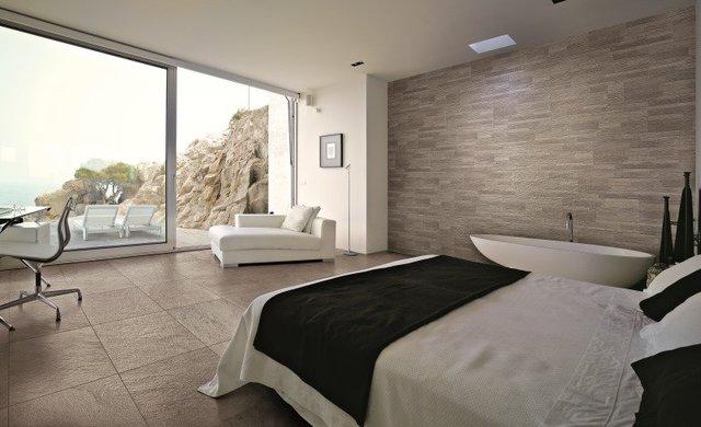 Steingut Und Feinsteinzeug Fliesen Im Badezimmer An Wand Und Boden - Verblendung fliesen