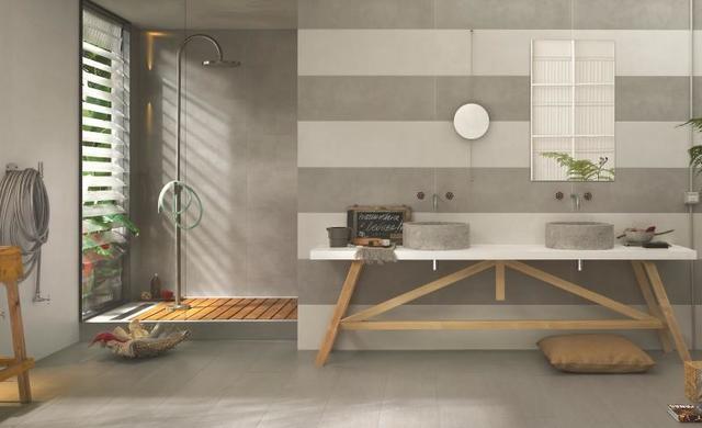 badezimmer fliesen bis zur decke verlegt erzeugen vorteile