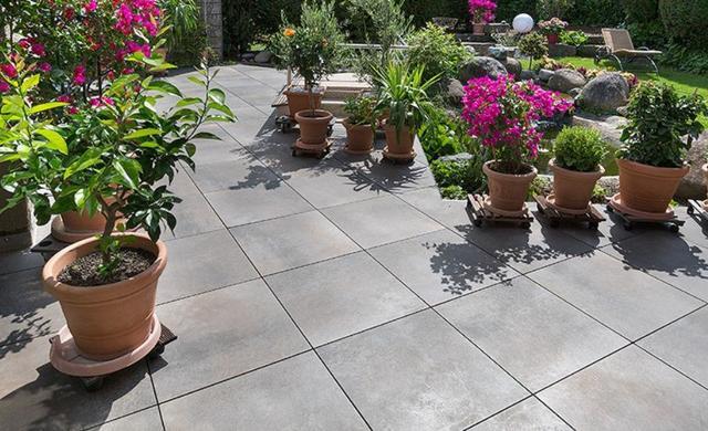 Terrassenplatte Outdoor mediterran