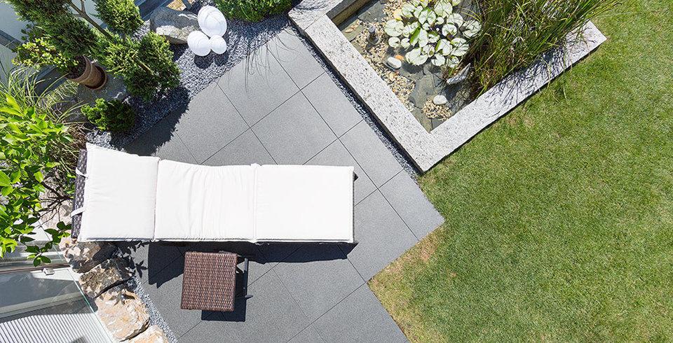 Terrassenfliesen Für Ihre Terrasse Balkon Die Richtige Platte - Feinsteinplatten aussenbereich