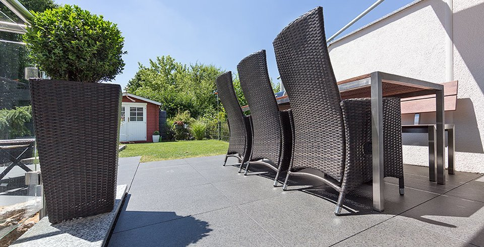 Terrasse bei Kemmler-Kunden
