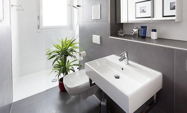 badezimmer in betonoptik modern