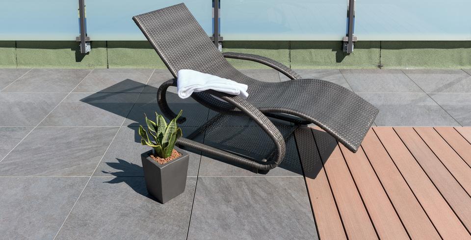 outdoor platte terrassen-fliese