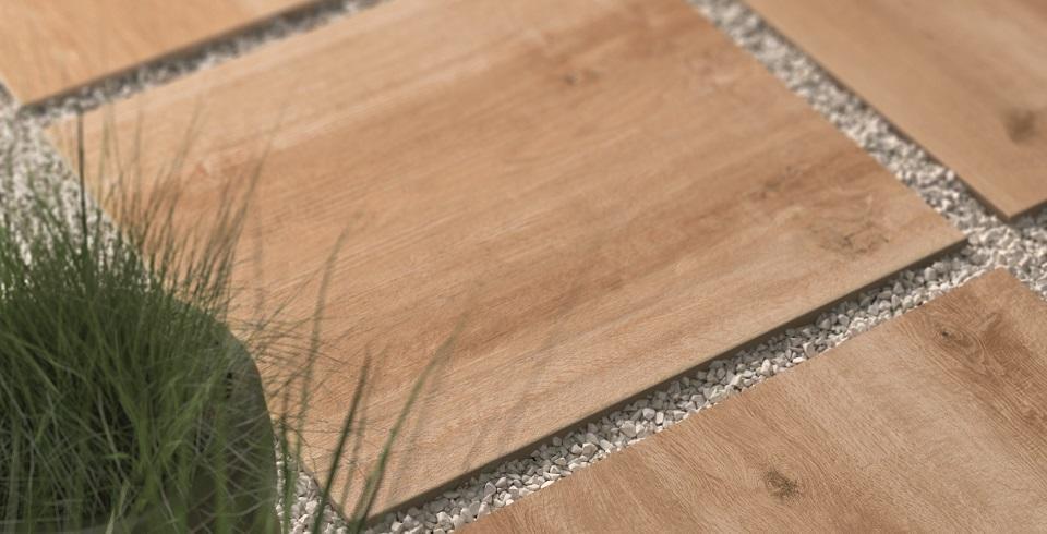 terrassenplatte in splitt verlegt holzoptik