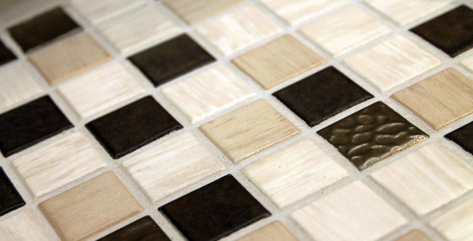 Smerillo Fliesen In Der Ausstellungskoje In Weinsberg FliesenKemmler - Mosaik fliesen 5x5cm