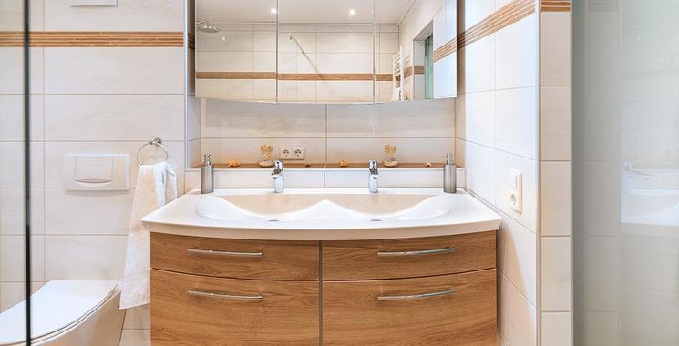 Fliesen im Bad in Cotto Optik Referenz Freudenreich
