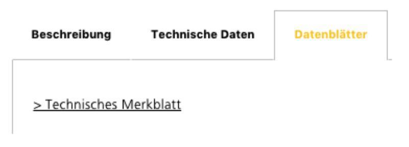 technische Daten Schritt 1