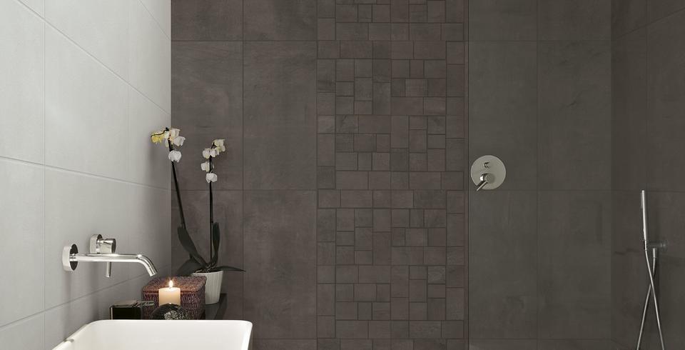 Mosaik braun Badezimmer