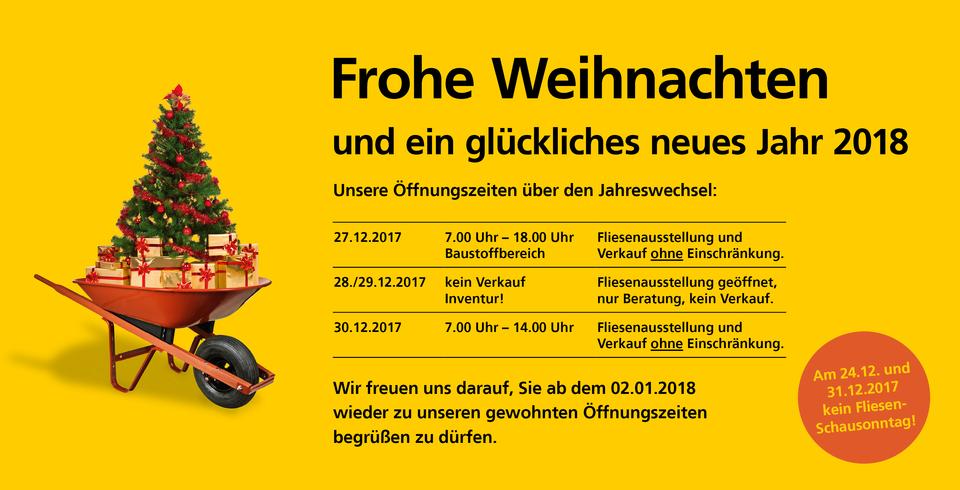 Inventur Weihnachten 2017 Schorndorf
