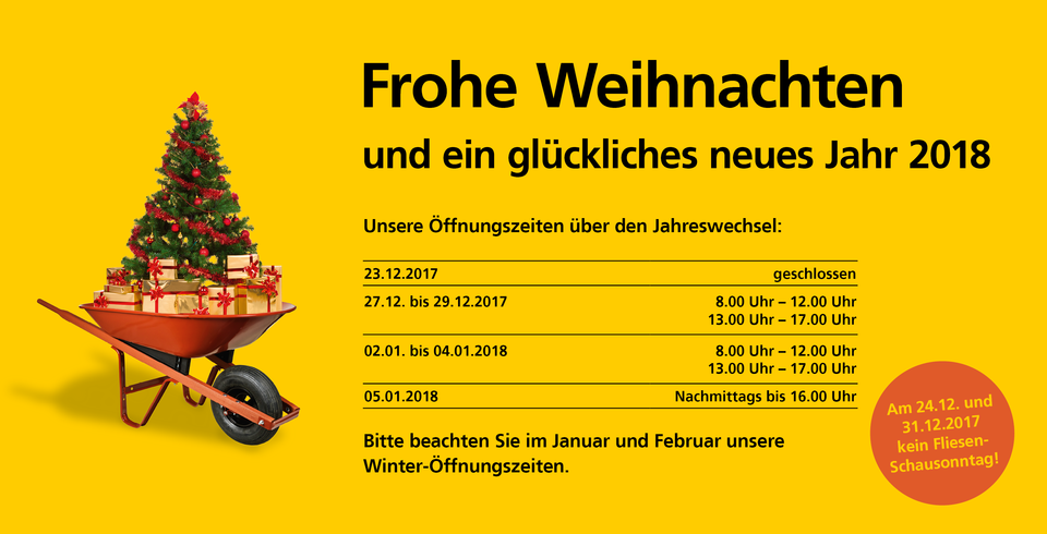 Inventur Weihnachten 2017 Oberndorf