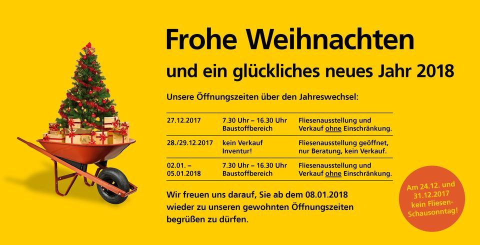 Inventur Weihnachten 2017 Metzingen