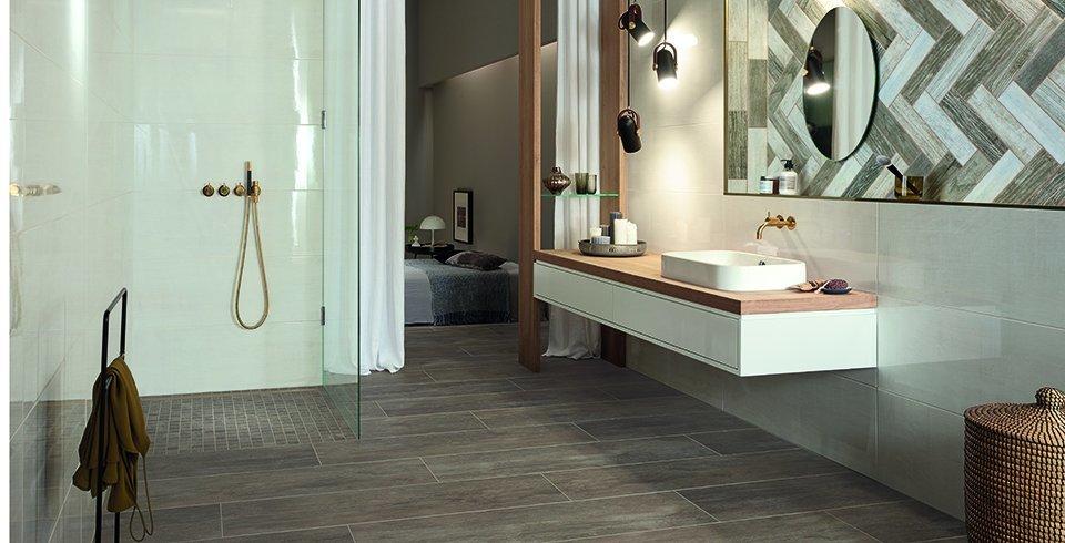 Wand- und Bodenfliesen im Badezimmer Trends 2018