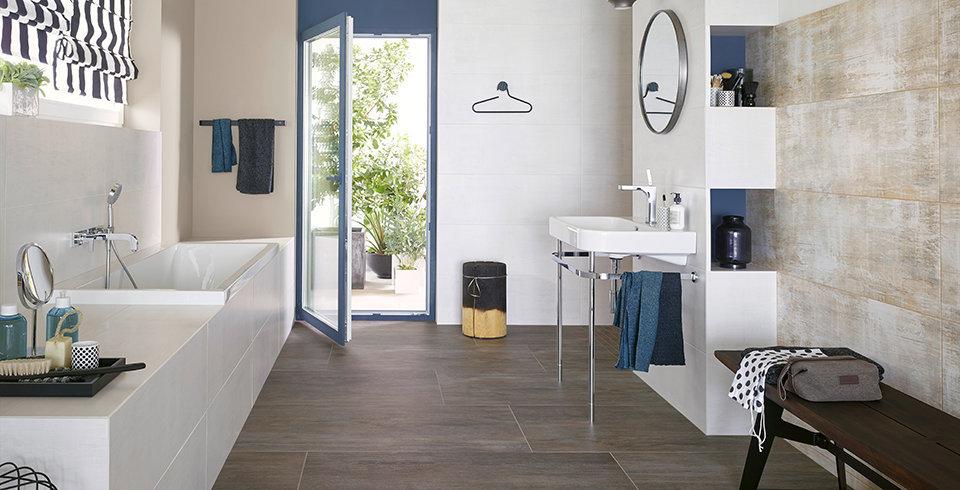 badezimmer ideen wohlf hloase mit fliesen kemmler. Black Bedroom Furniture Sets. Home Design Ideas