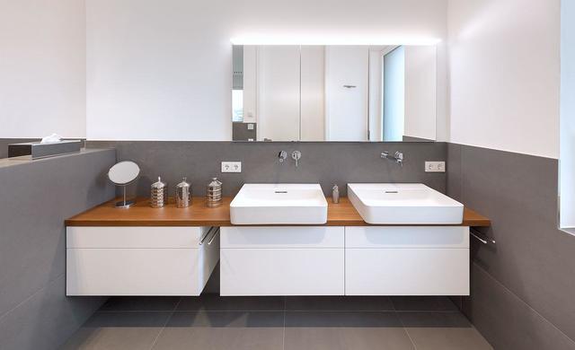 betonoptikfliese irsina von fliesen-kemmler im badezimmer kunde hartmann