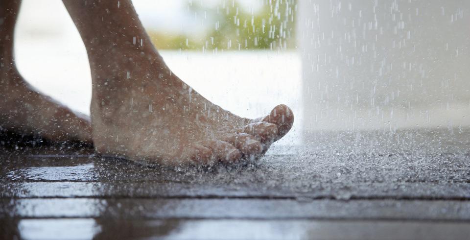 rutschhemmung in der Dusche