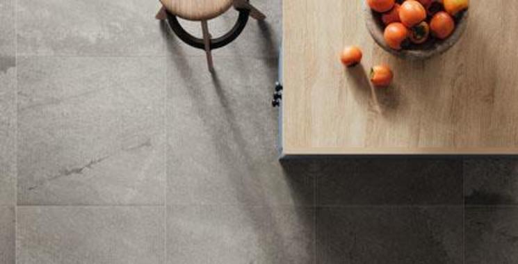 Verlegung der Fliese Solarolo als Küchenboden