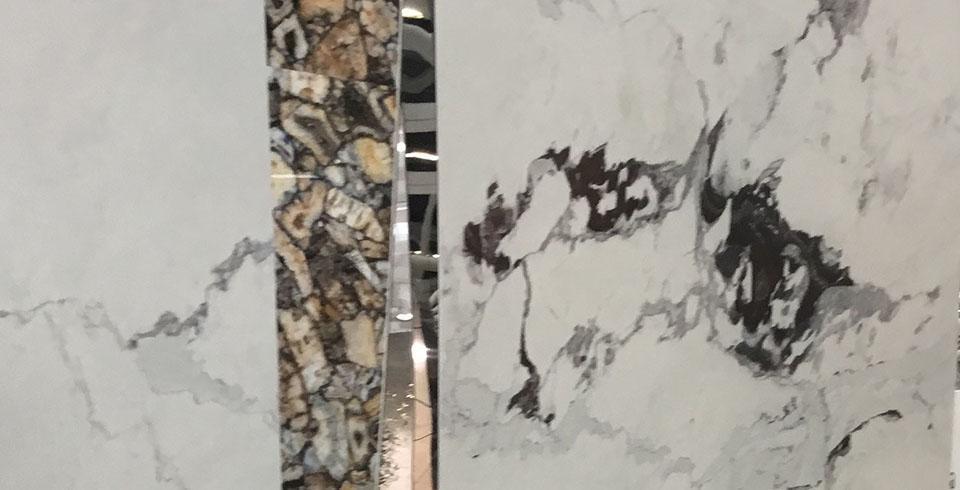 Cersaie 2019 - hochwertige Marmoroptik