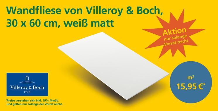 Aktuelle Aktion Villeroy und Boch