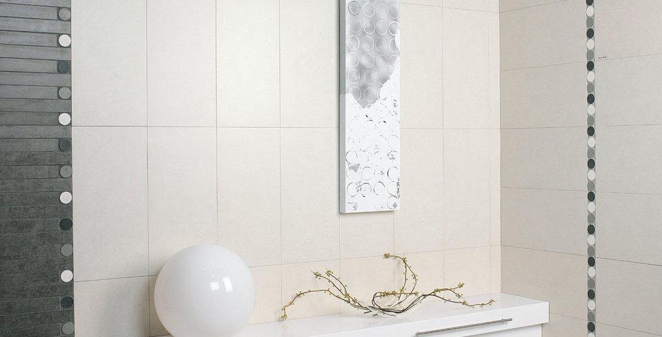 fliesen kemmler wandfliese gruaro in der farbe wei und im format 30 x 60 cm. Black Bedroom Furniture Sets. Home Design Ideas