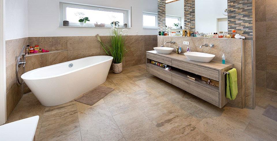 wohnzimmer fliesen beige matt haus design ideen
