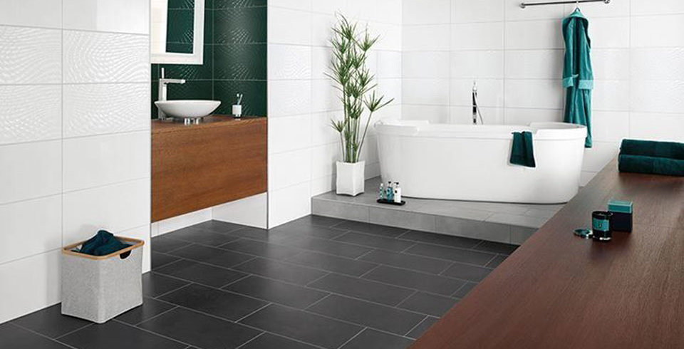 fliesen kemmler bodenfliese rapone in der farbe schwarz und im format 60 x 30 cm. Black Bedroom Furniture Sets. Home Design Ideas