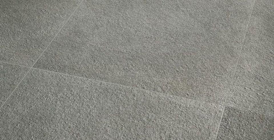Fliesen kemmler bodenfliese genoni in der farbe grau und im
