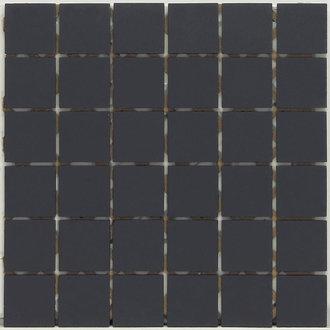fliesen kemmler bodenfliese fiumicino in der farbe schwarz und im format 3 x 3 cm. Black Bedroom Furniture Sets. Home Design Ideas