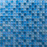 Credera blau 2 x 2 cm