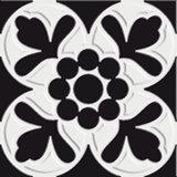 Dicomano schwarz 10 x 10 cm