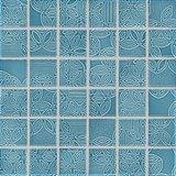 Flumini hell blau 4,7x4,7 cm