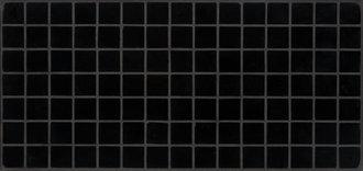Vercana schwarz 2 x 2 cm